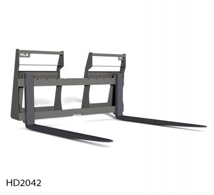 2000 Lb Cap Heavy Duty Pallet Fork