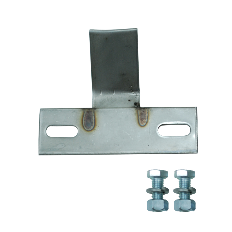 Stainless steel single mounting kit with hardware