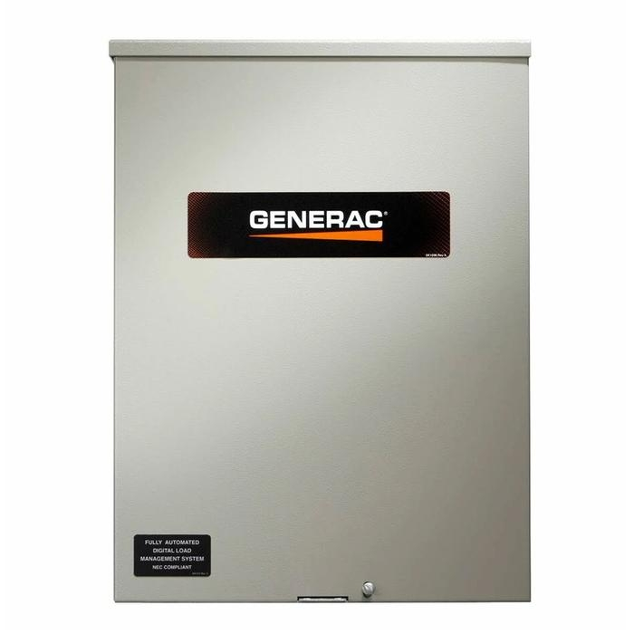 Generac Smart Switch 100 Amp Service rated 120/240 single phase NEMA 3R CUL Approved