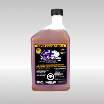 4+ Super Clean Fuel Additive