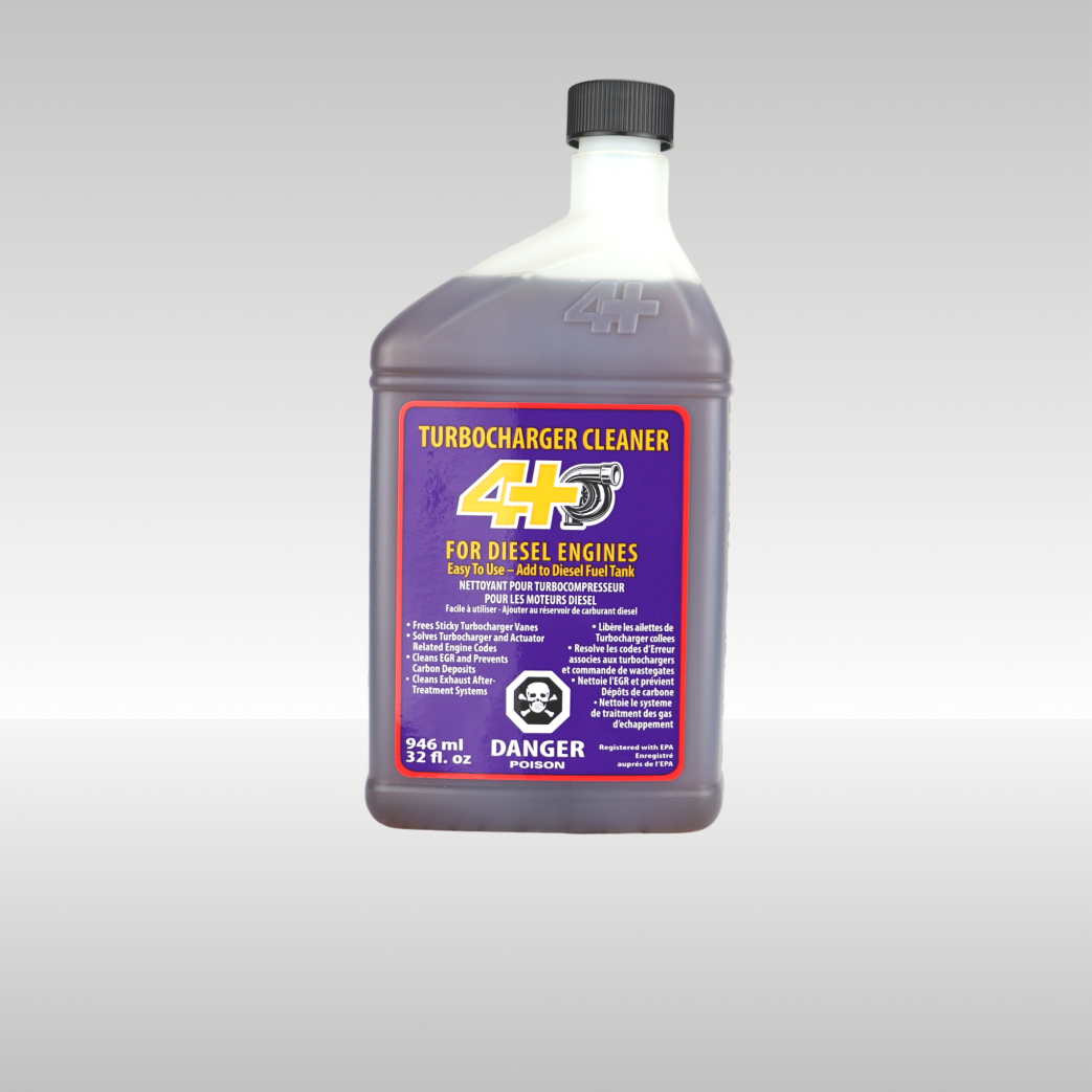 Turbocharger Cleaner Fuel Additive